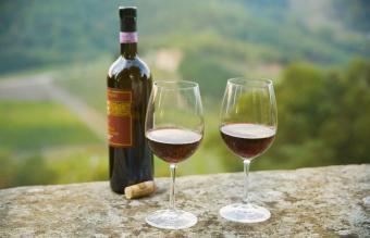 Bottle of Chianti Classico wine