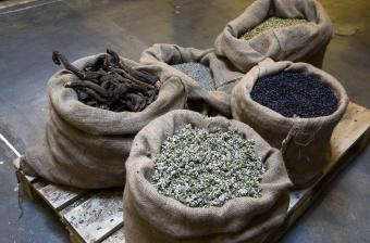 Aromatizing herbs and spices