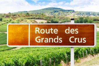 Route des Grands Crus sign