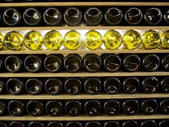 Professional wine storage facility