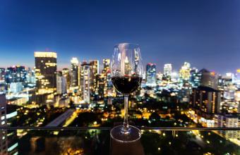 City wine tasting