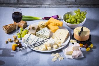 Cheese and Wine Pairing Guide With Chart