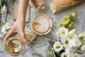 Albarino and cheese