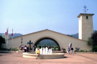 Entrance to Robert Mondavi Winery