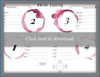 Wine Tasting Mat
