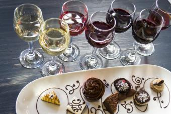 Simple Dessert and Wine Pairings With Chart