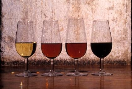 A variety of different types of sherry
