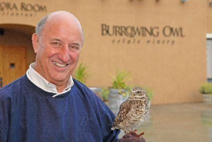 Jim Wyse at Burrowing Owl Winery