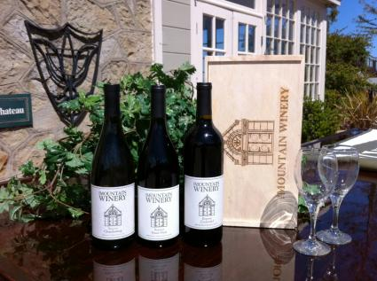 mountain winery wines at the vineyard