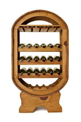beautiful wine rack