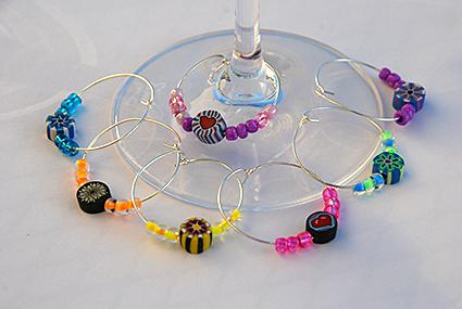Wine Glass Charms To Make Or Buy Lovetoknow
