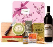 Gourmet Wine and Cheese Board Gift Set