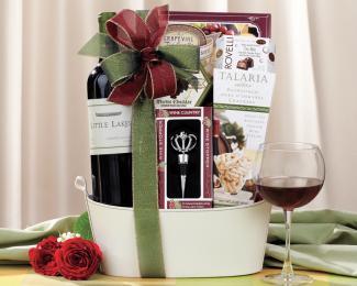 Little Lakes Cabernet Gift Basket