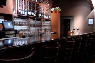 Interior of Caveau Wine Bar