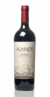 Alamos Malbec made by Catena Family in Argentina