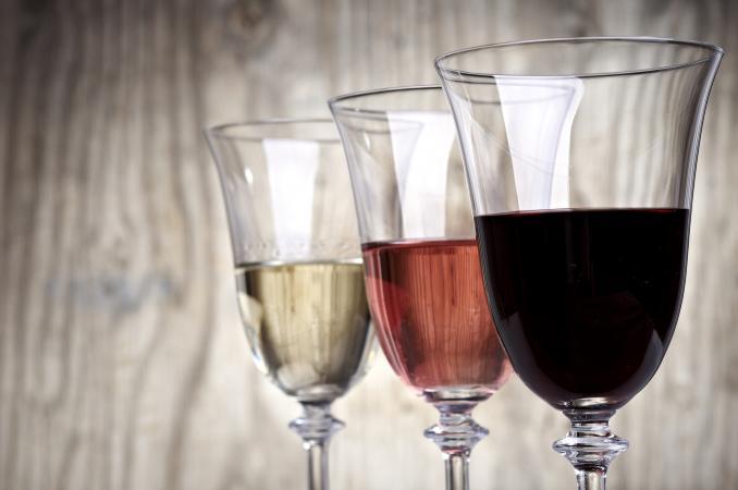 Trio of wines