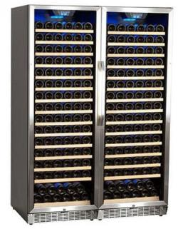 Edgestar CWR1661SZDUAL 332 Bottle Built-In Side-by-Side Wine Cellar