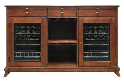 Cava 38-Bottle Wine Storage Credenza