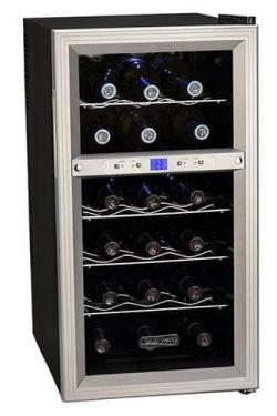 Koldfront 18-Bottle Dual Zone Fridge