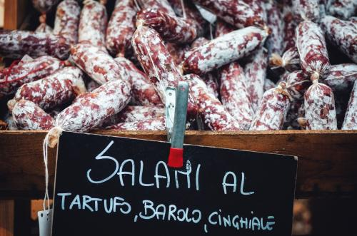 Salami from the Barolo region in Piedmont