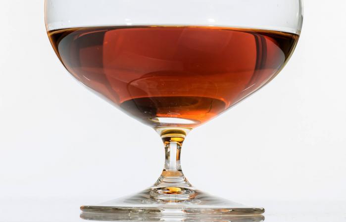 Glass of Armagnac