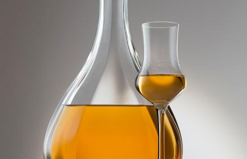 brandy with decanter