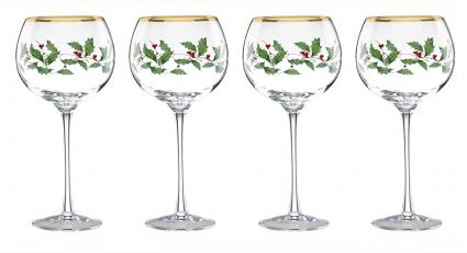 Lenox Holiday Balloon Glasses