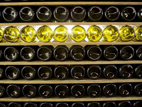 Professional wine storage facility