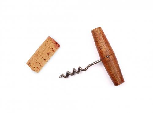 Vintage t-style corkscrew