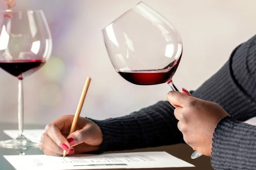 Taking the sommelier test