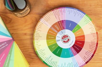 Wine Folly - Wine Flavors Circle Chart
