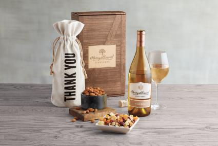 Harry & David Thank You White Wine Gift Box