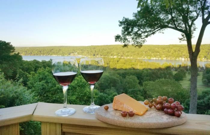 Red Wine in Finger Lakes