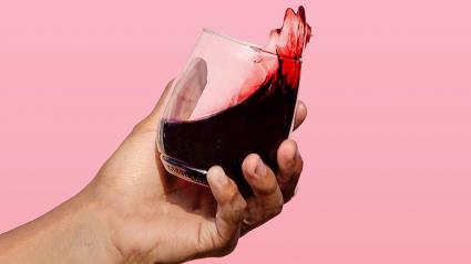 TOSSWARE 14oz Stemmed Vino- recyclable wine plastic cup