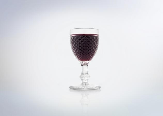Goblet of port wine