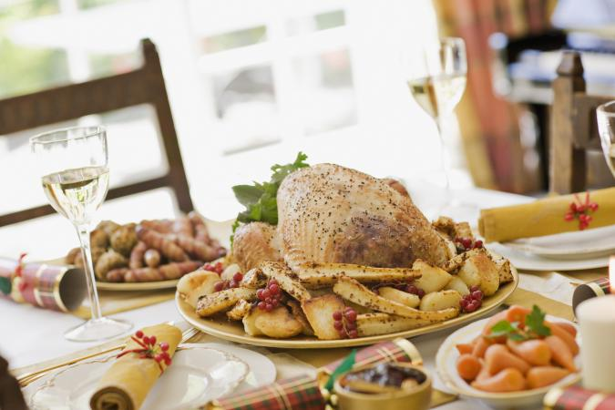 Wine with turkey
