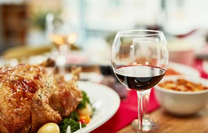 Wine with turkey