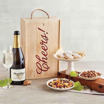 Chardonnay and Cheers Gift Box