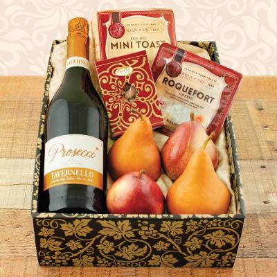 Prosecco and Pears Gift Box