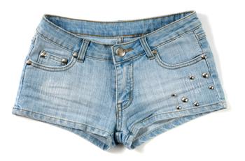 Denim Short Shorts | LoveToKnow