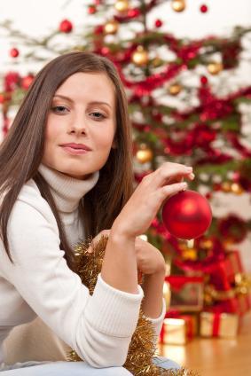 Woman at holidays