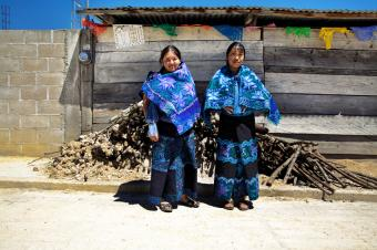 Traditional Mexican Ponchos and Skirts