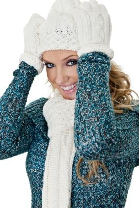 knotted winter scaf
