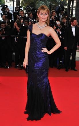 Mischa Barton celebrity one shoulder dress