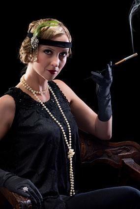 1920's Flapper style