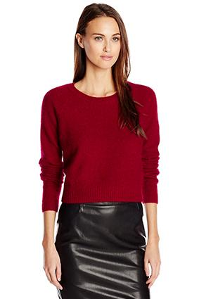 Sam Edelman Cropped Angora Sweater