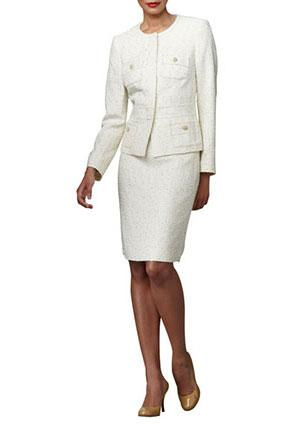 Albert Nipon Tweed Suit