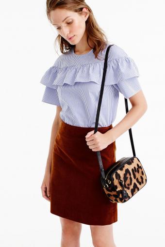 Mini Skirt in Corduroy