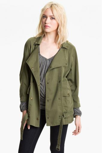 Current/Elliott 'The Infantry' Army Jacket