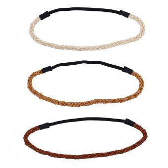Boho Beaded braid head wraps